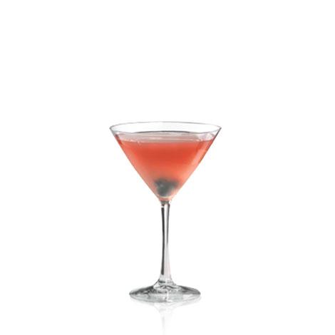 Blue Pomegranate Martini